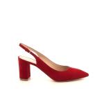 Dyva damesschoenen sandaal rood 195580