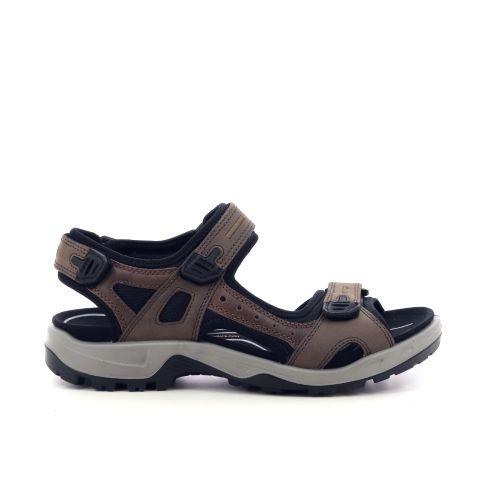 Ecco herenschoenen sandaal bruin 214614