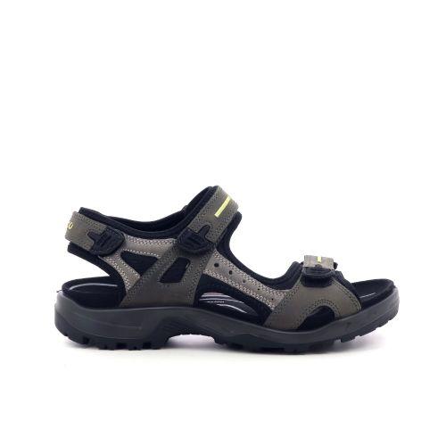 Ecco herenschoenen sandaal taupe 203922