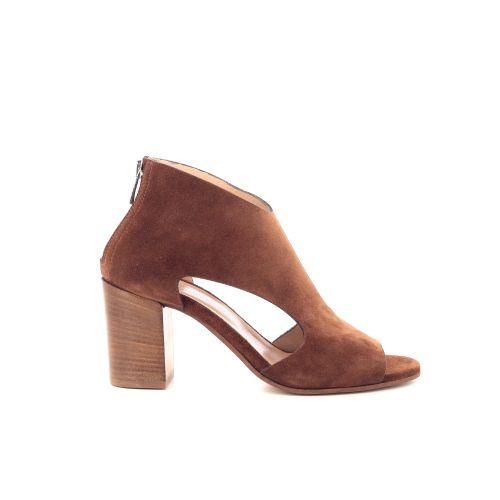 Ela marcacci damesschoenen sandaal cognac 207085
