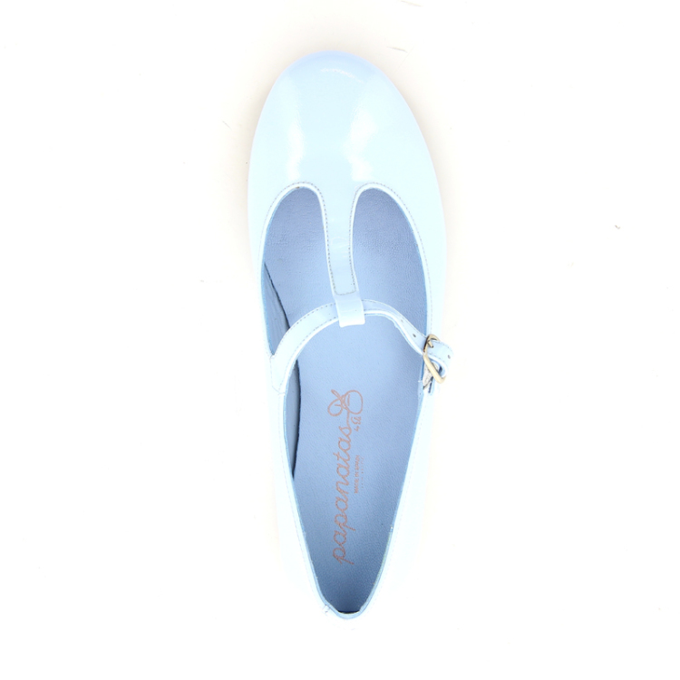 Eli kinderschoenen ballerina turquoise 10511