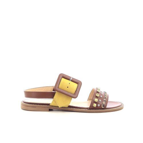 Eliza damesschoenen sandaal naturel 205574