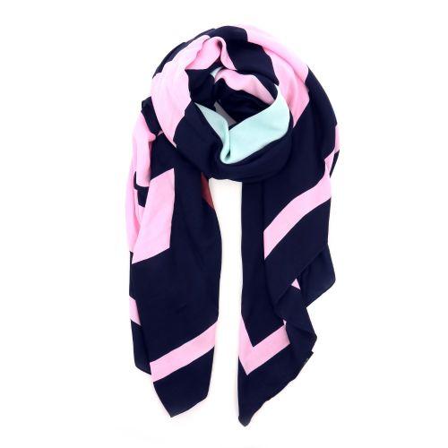 Essentiel accessoires sjaals donkerblauw 194714