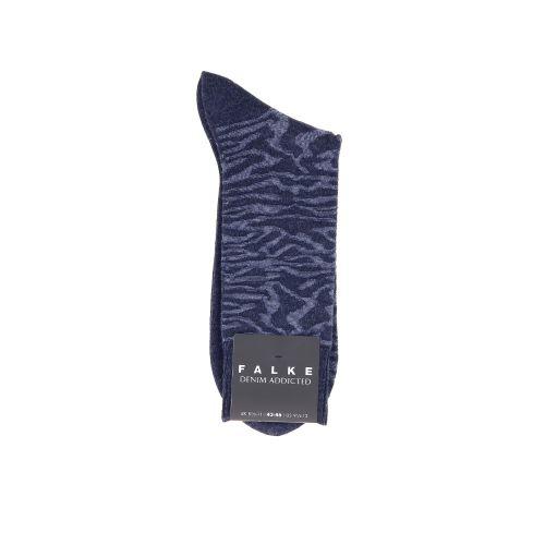 Falke  kousen blauw 190679