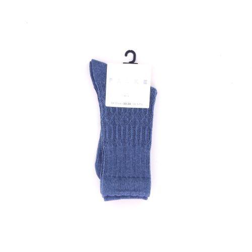 Falke  kousen jeansblauw 200914