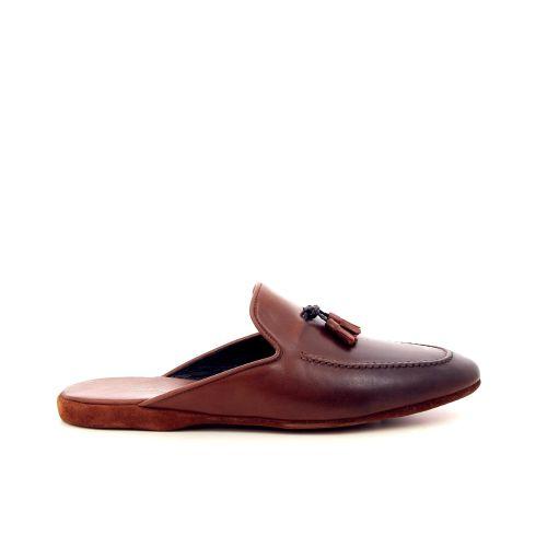 Farfalla  pantoffel cognac 191328