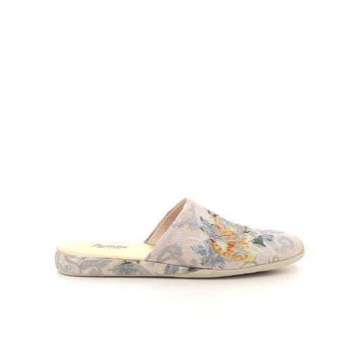 Farfalla damesschoenen pantoffel beige 185712