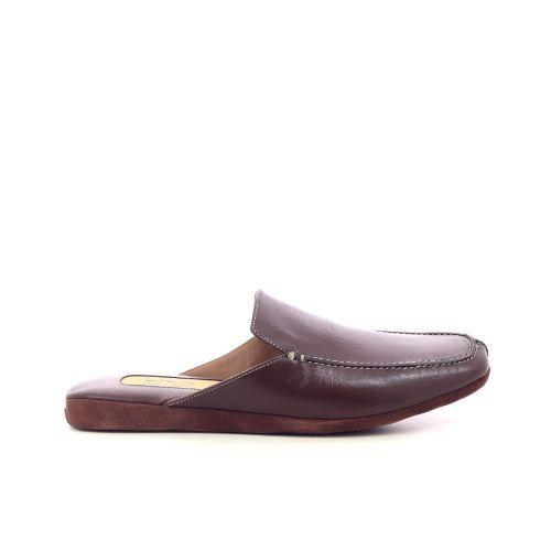 Farfalla herenschoenen pantoffel cognac 220294