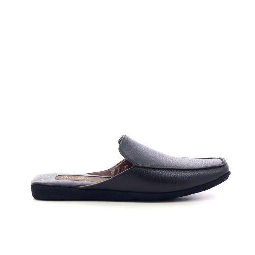 Farfalla herenschoenen pantoffel d.bruin 216902