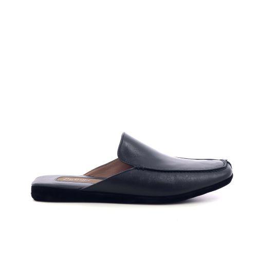 Farfalla herenschoenen pantoffel zwart 216901
