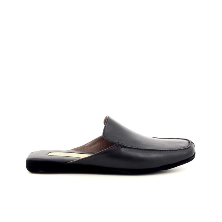Farfalla herenschoenen pantoffel zwart 191324