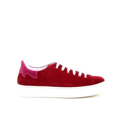 Fiamme damesschoenen sneaker rood 187834