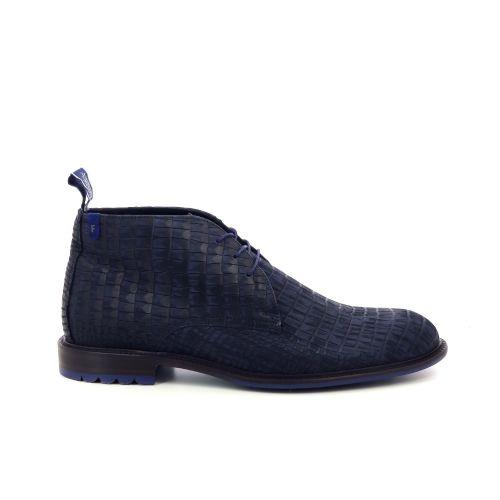 Floris van bommel herenschoenen boots blauw 198826