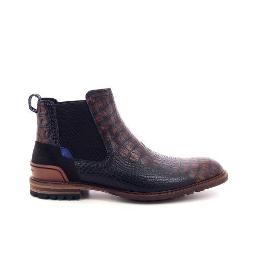 Floris van bommel herenschoenen boots bruin 198844