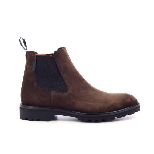 Floris van bommel herenschoenen boots bruin 217349