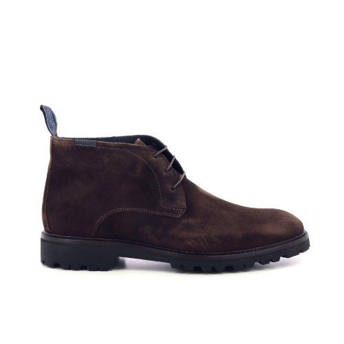 Floris van bommel herenschoenen boots bruin 218227