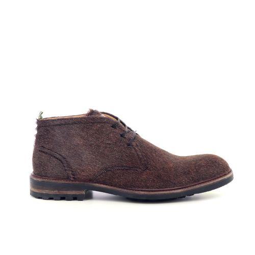 Floris van bommel herenschoenen boots camel 217354