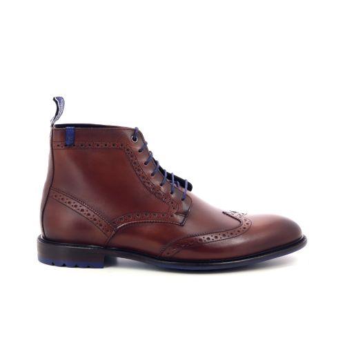 Floris van bommel herenschoenen boots cognac 198834