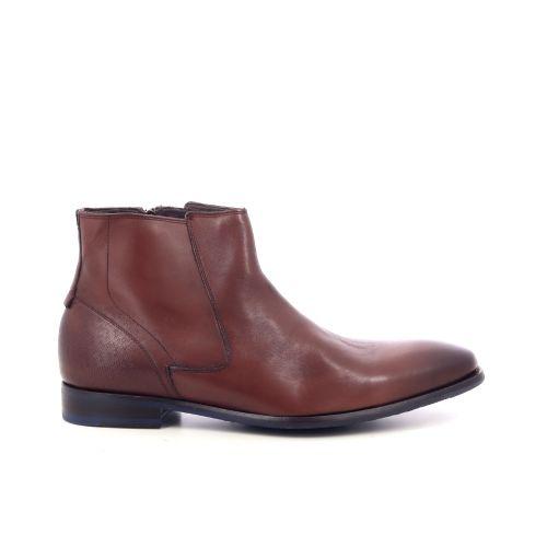 Floris van bommel herenschoenen boots cognac 208617