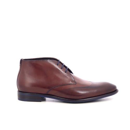 Floris van bommel herenschoenen boots cognac 208622