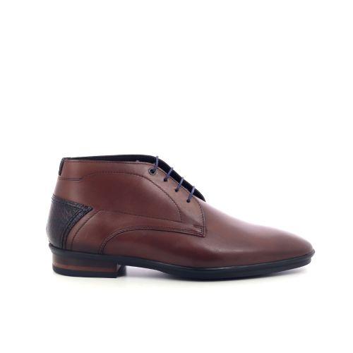 Floris van bommel herenschoenen boots cognac 208625
