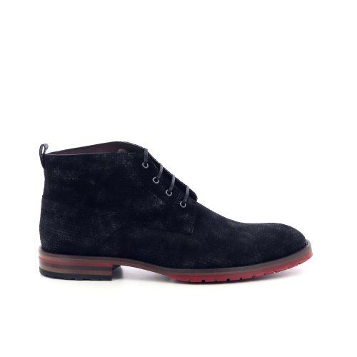 Floris van bommel herenschoenen boots cognac 208629