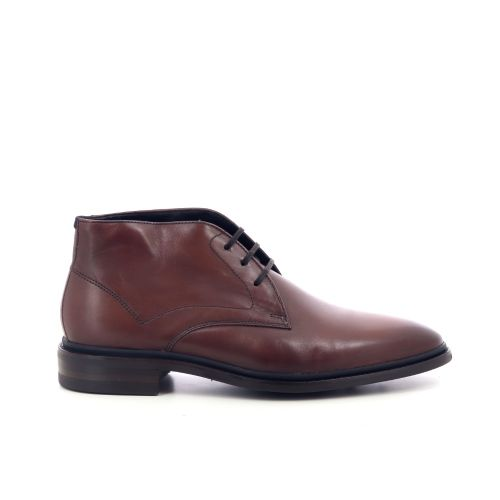 Floris van bommel herenschoenen boots cognac 209440