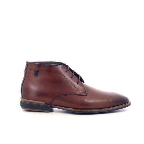 Floris van bommel herenschoenen boots cognac 212895