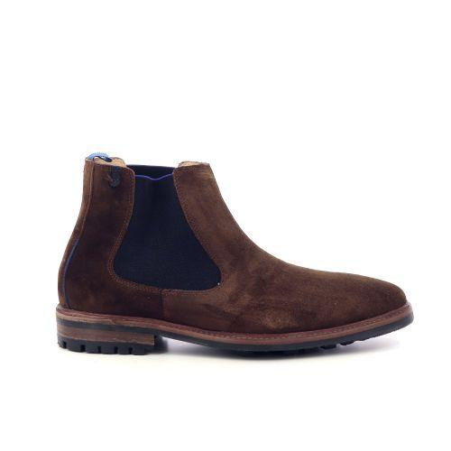 Floris van bommel herenschoenen boots cognac 217374