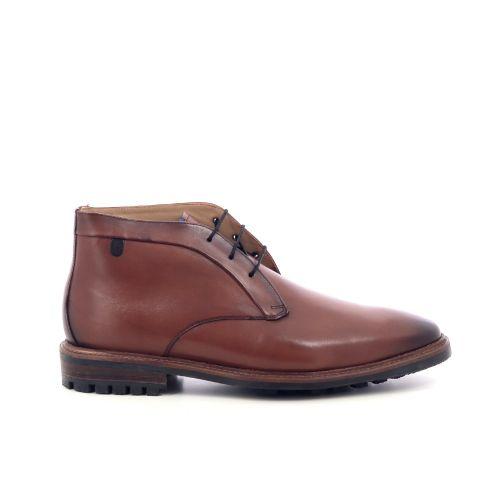 Floris van bommel herenschoenen boots d.bruin 217371