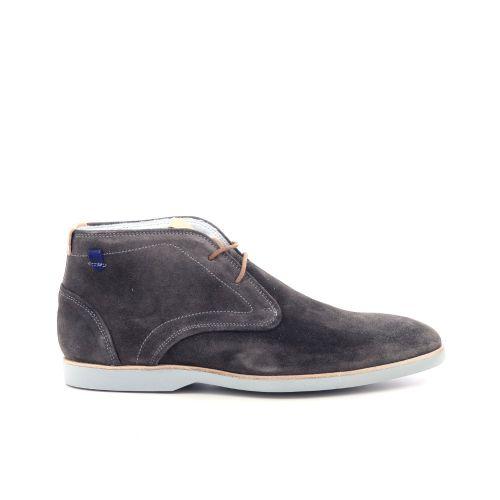 Floris van bommel herenschoenen boots grijs 212899