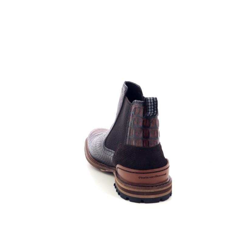 Floris van bommel herenschoenen boots cognac 198845