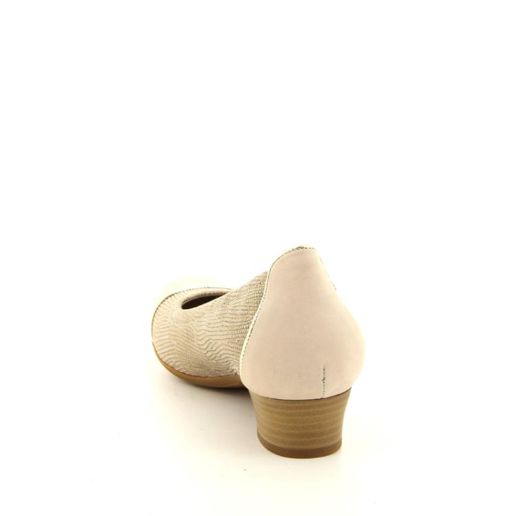 Footnotes damesschoenen pump goud 11389
