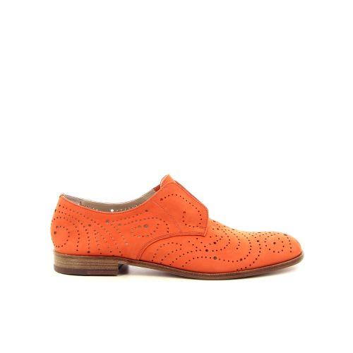 Fratelli rossetti damesschoenen mocassin oranje 183404
