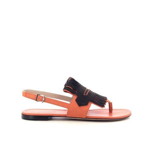 Fratelli rossetti damesschoenen sandaal oranje 213231