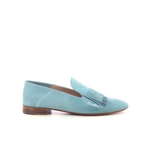 Fratelli rossetti damesschoenen mocassin turquoise 213226