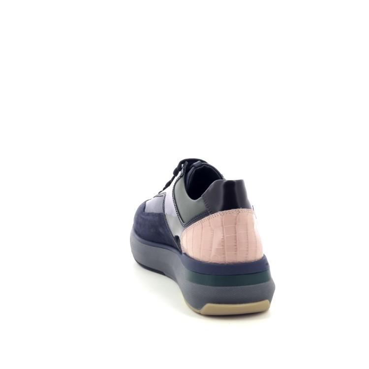 Fratelli rossetti damesschoenen veterschoen donkerblauw 200356