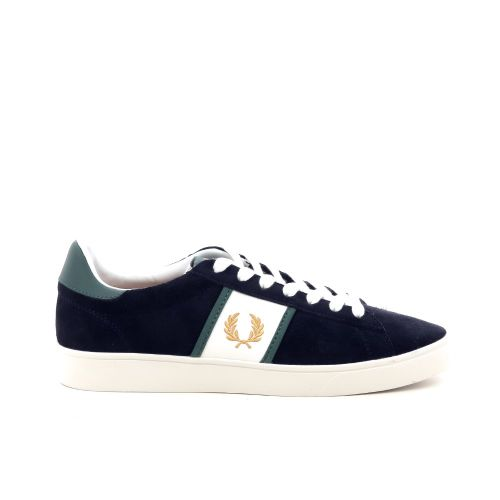 Fred perry  sneaker blauw 208572