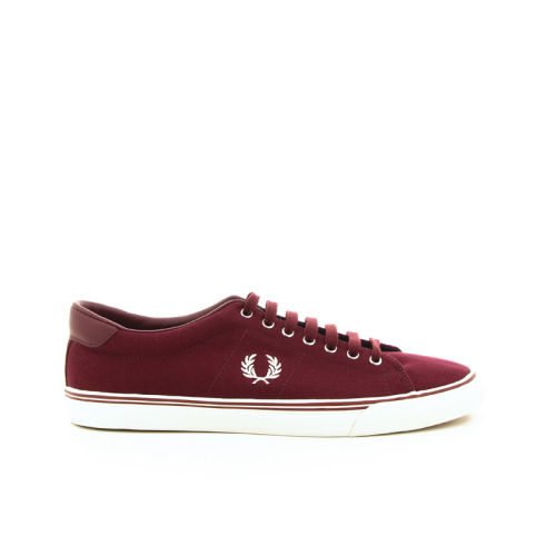Fred perry  sneaker bordo 16936