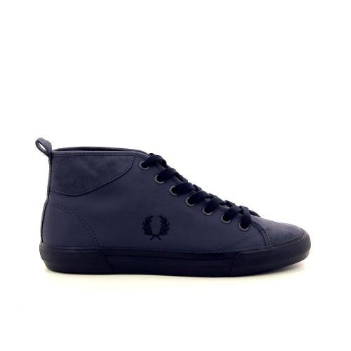 Fred perry herenschoenen sneaker blauwgrijs 188449