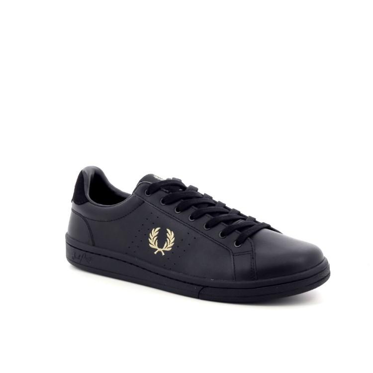 Fred perry herenschoenen sneaker zwart 198959