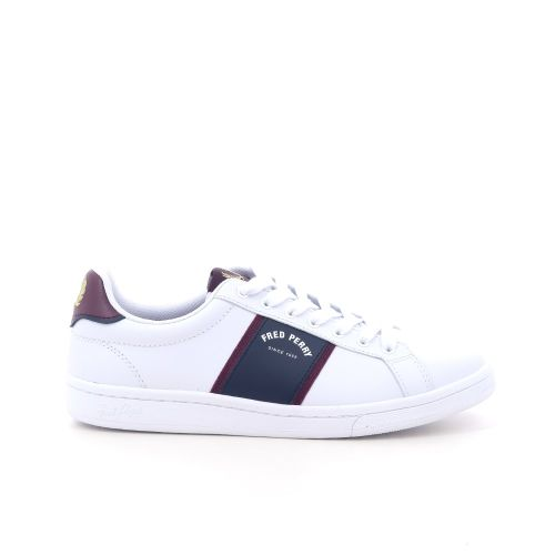 Fred perry  sneaker wit 212909
