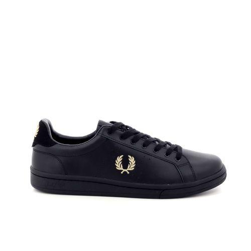 Fred perry  sneaker zwart 198959
