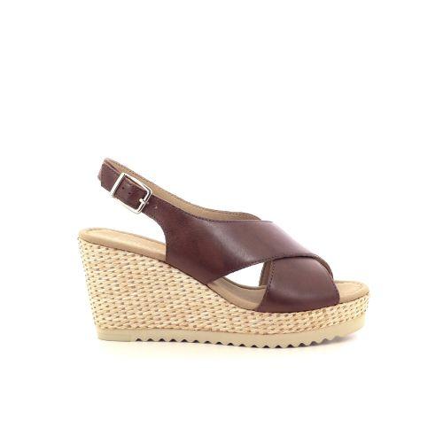 Gabor damesschoenen sandaal cognac 212670