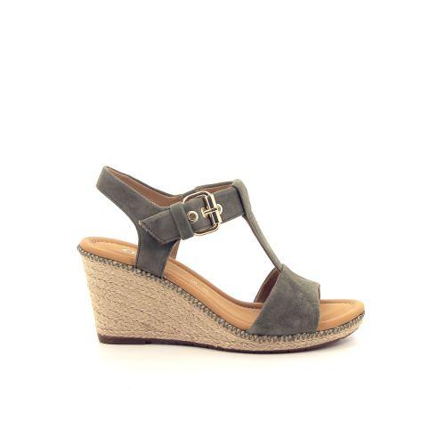 Gabor damesschoenen sandaal kaki 193476