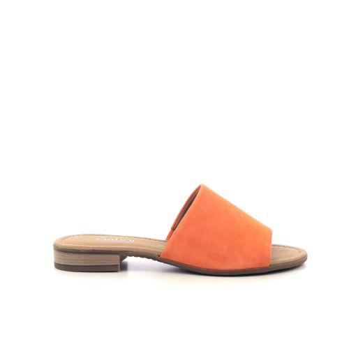Gabor damesschoenen sleffer oranje 212675