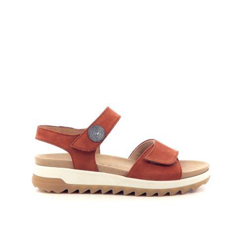 Gabor damesschoenen sandaal roest 212660
