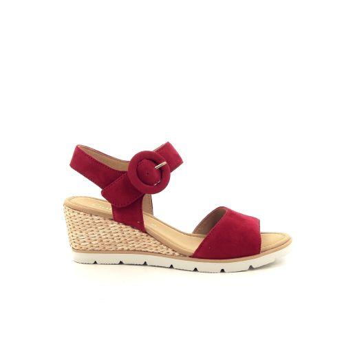 Gabor damesschoenen sandaal rood 193470