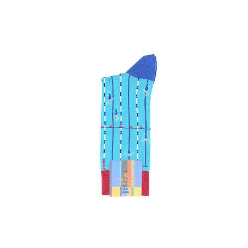 Gallo accessoires kousen azuurblauw 214692