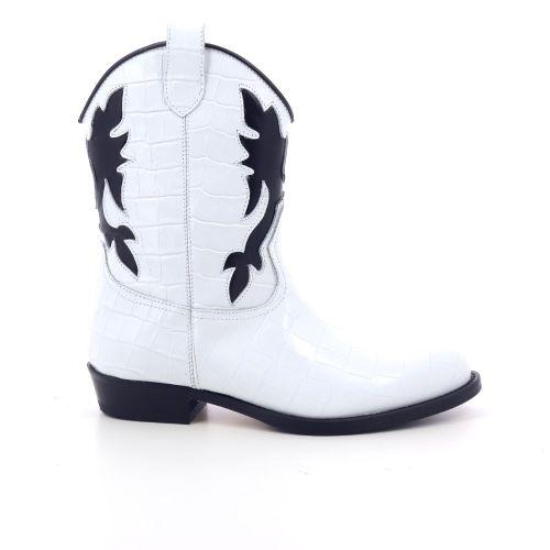 Gallucci kinderschoenen boots wit 199669